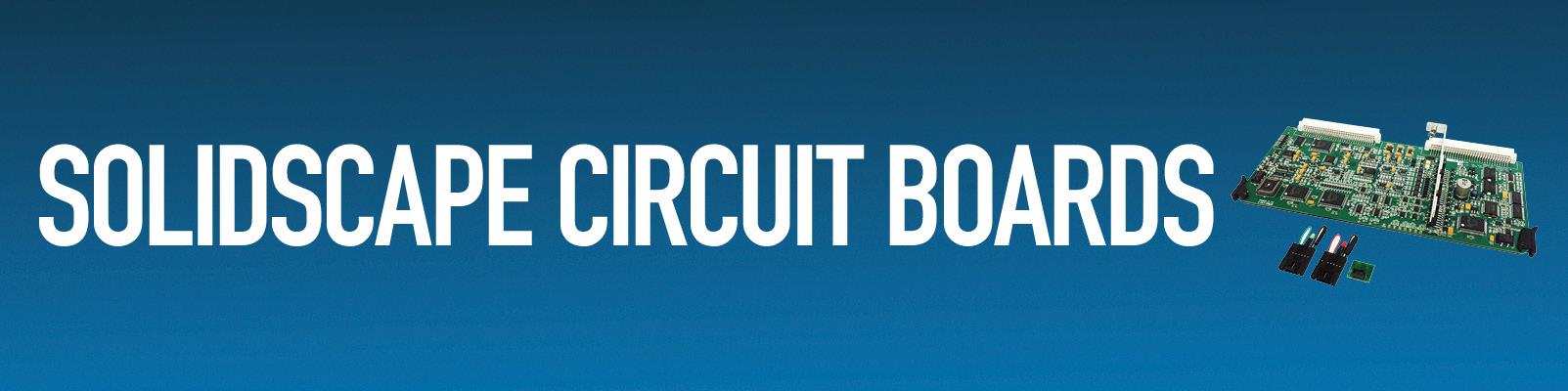 Solidscape Circuit Boards