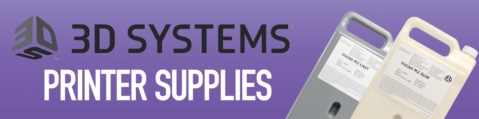 3D Systems Printer Supplies