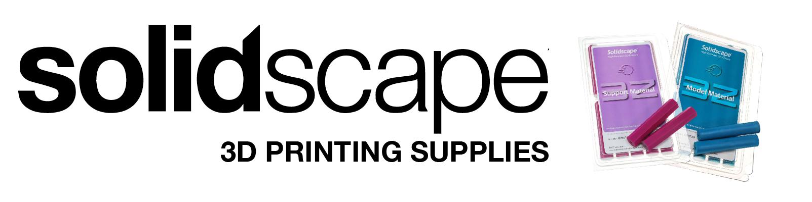 Solidscape Printer Supplies