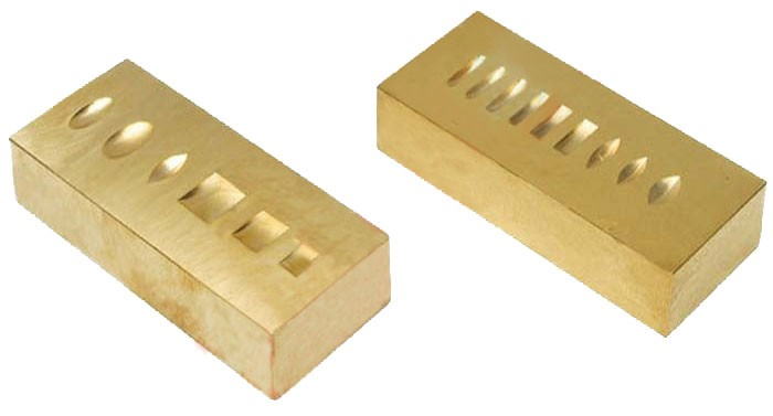 Men's & Women's Brass Stamping Block