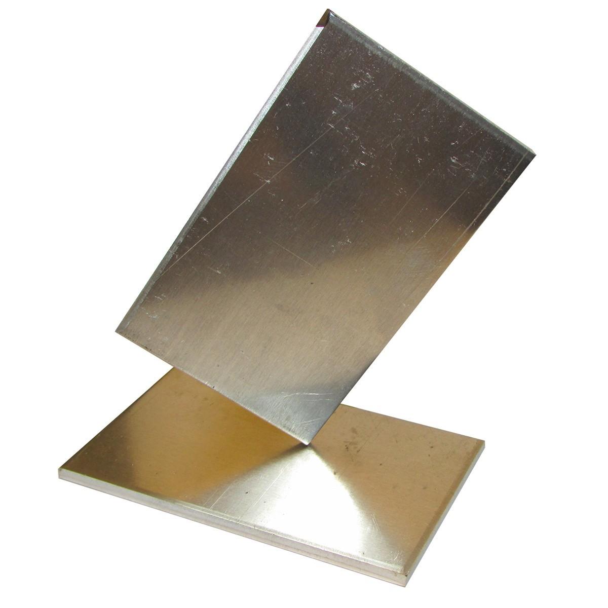 "Aluminum Mold Plates - 2"" x 3-1/4"""