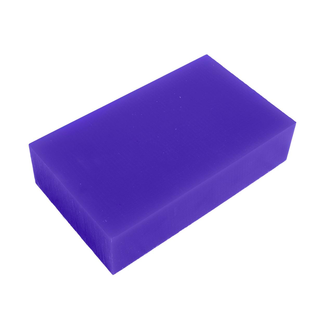 "File-A-Wax Block - Blue - Carving Wax 1lb Box 3-5/8"" x 6"" x 1-1/2"" Thick"
