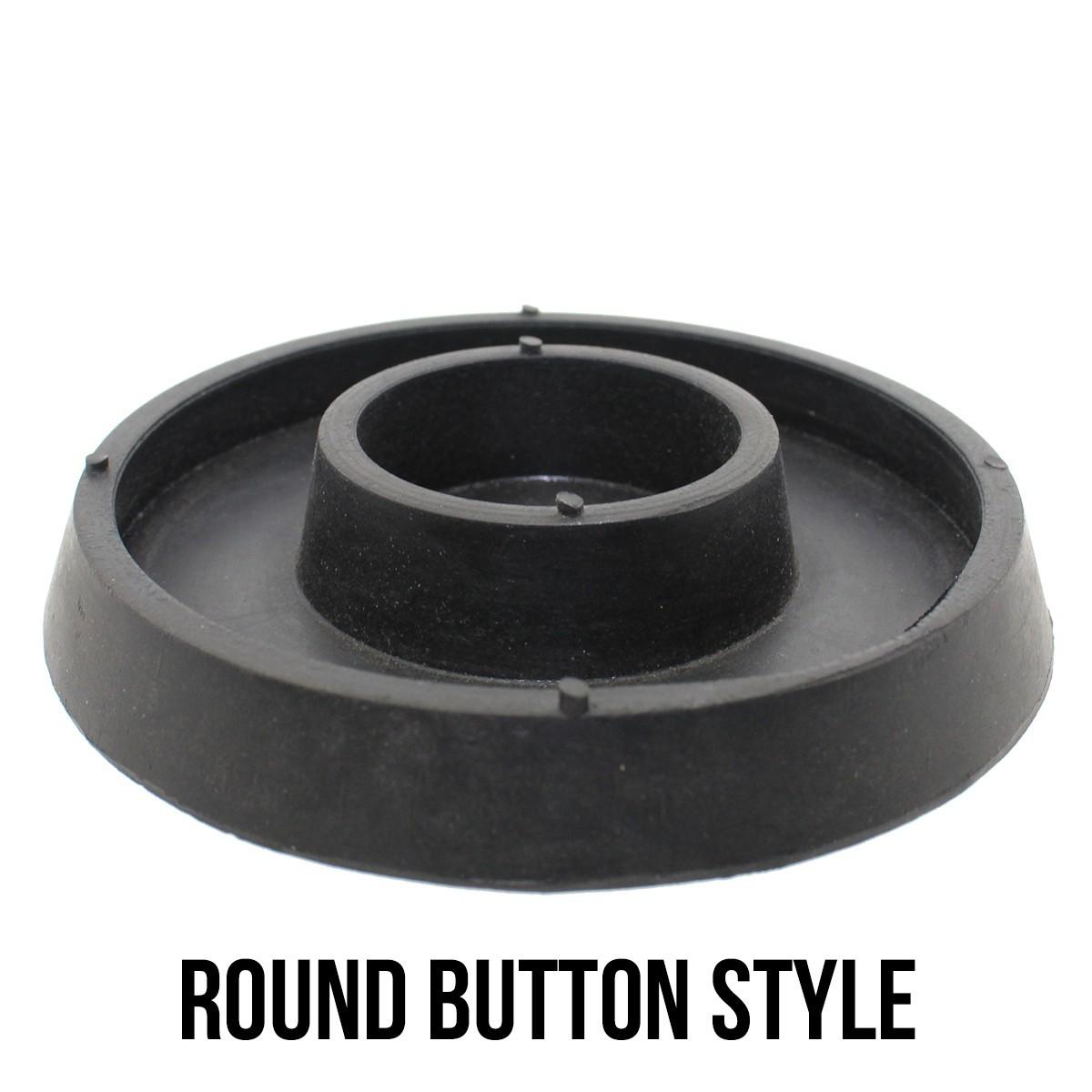 """Sprue Bases - Round Button Style - 2.5"""""""