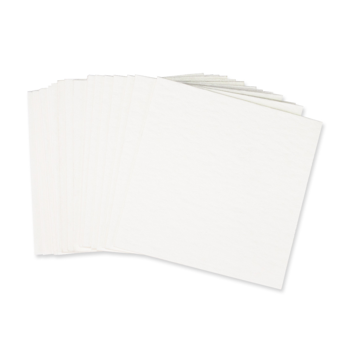 "Non-Asbestos Paper Bases - Square Base - 5"" x 5"""