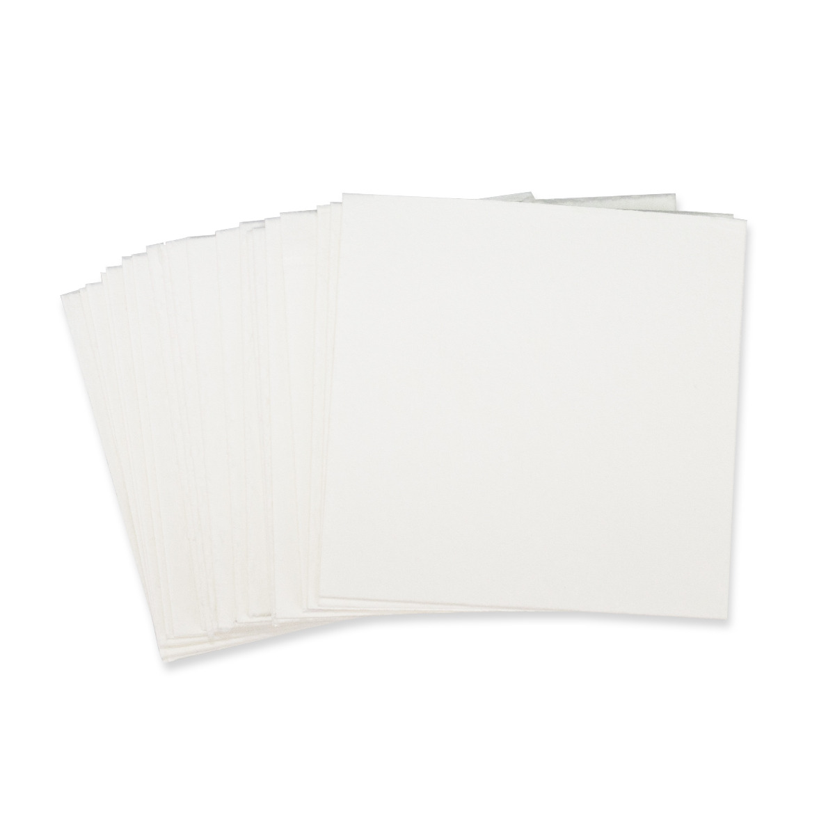 "Non-Asbestos Paper Bases - Square Base - 4"" x 4"""