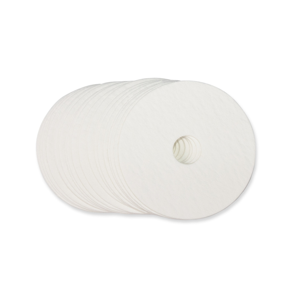 "Non-Asbestos Paper Bases - Round Base With Hole - 3.5"" (OD) x 0.75"" (ID)"
