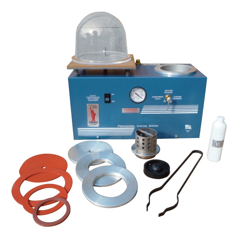 Deluxe Roma-Vac Casting & Vacuuming System