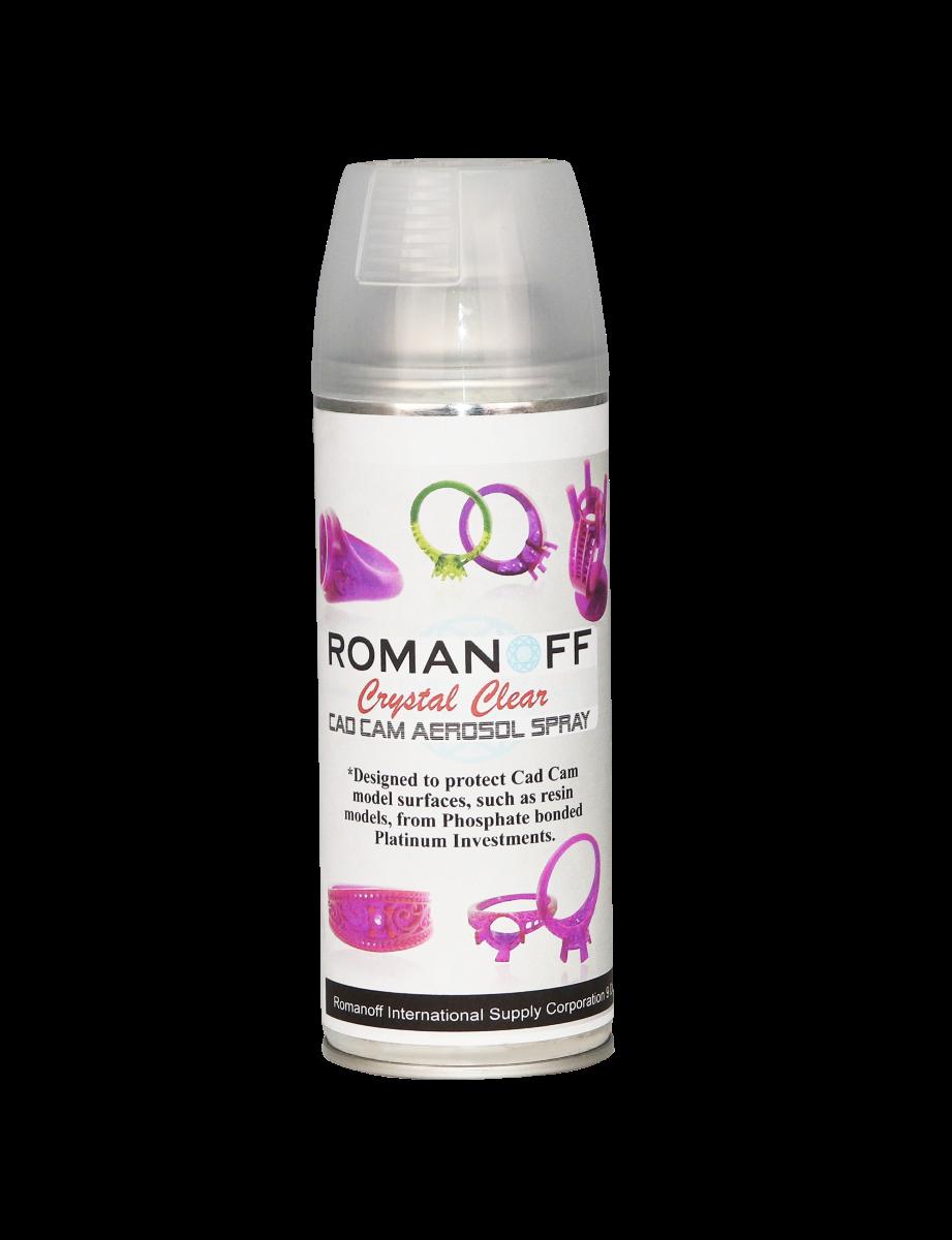 Romanoff Crystal Clear Cad-Cam Spray - 14oz