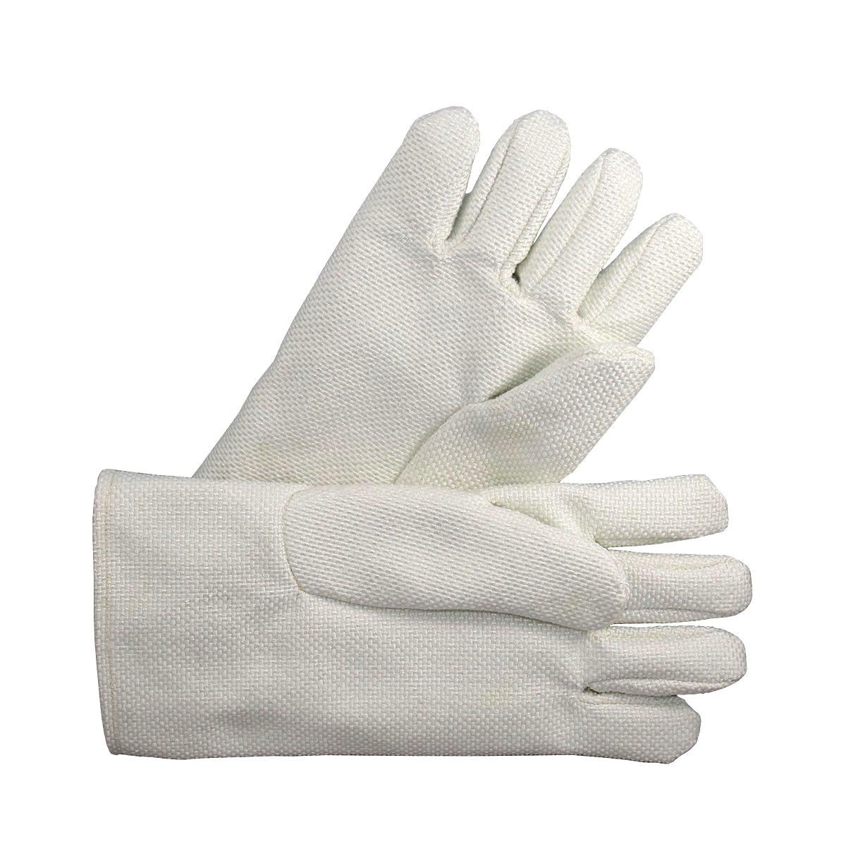 """14"""" White Non-Asbestos Gloves Pair"""