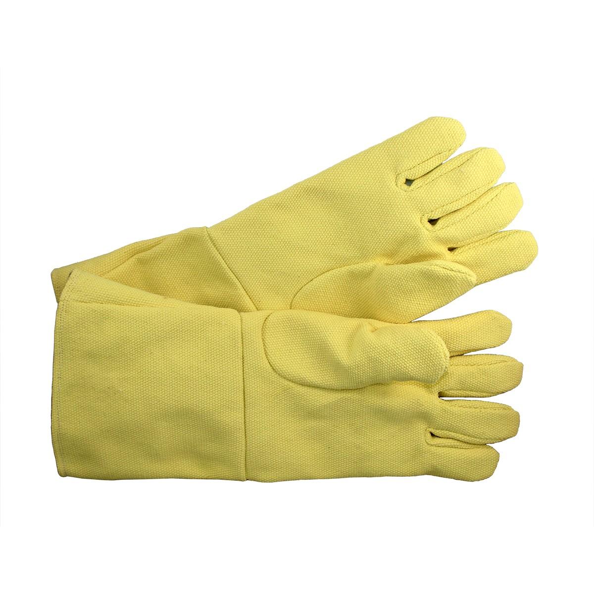 "14"" Yellow Non-Asbestos Gloves Pair"