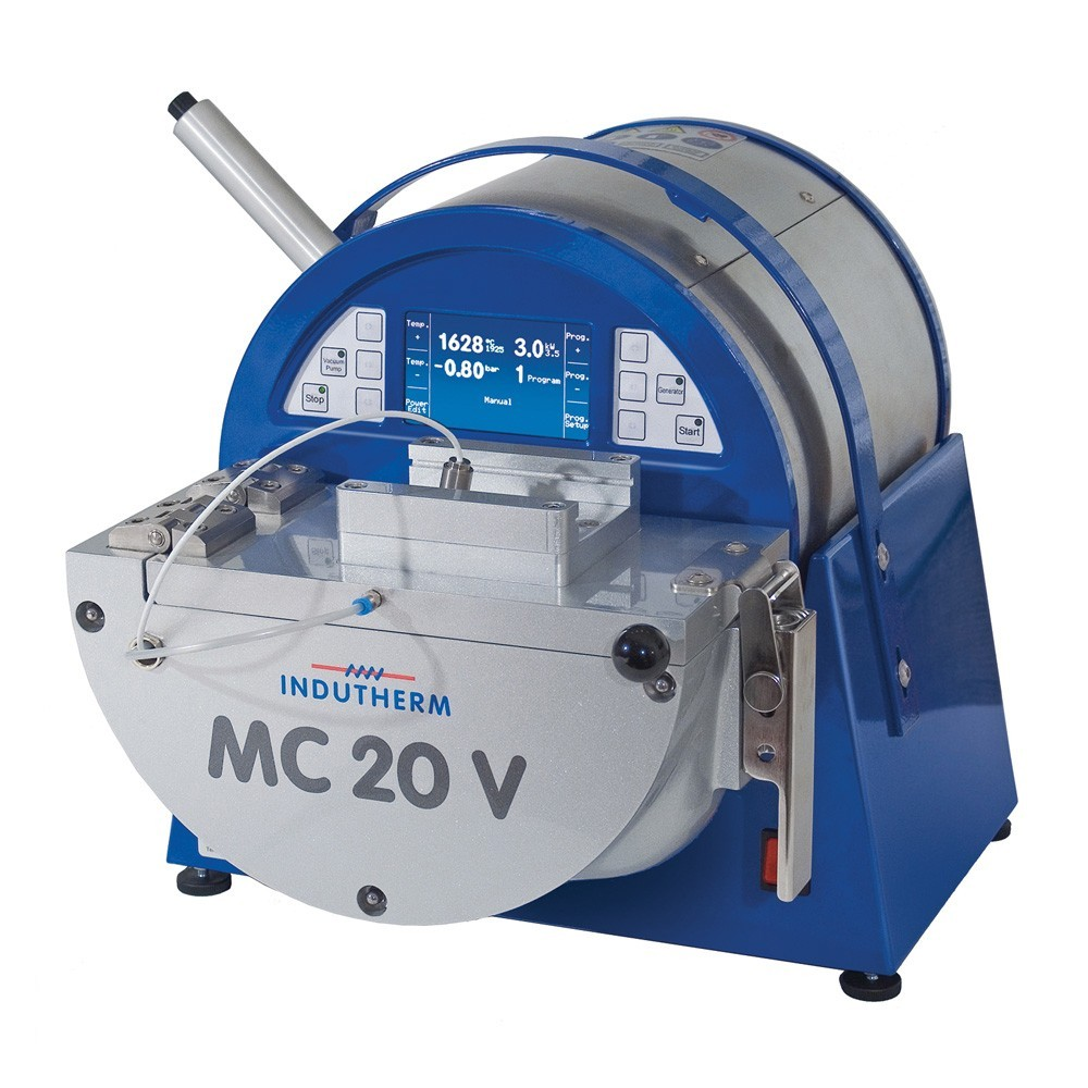 Indutherm MC20V Casting Machine with Optical Pyrometer