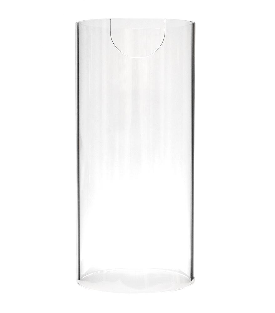 Indutherm Quartz Glass Tube F/ VTC800V 225H x 105H New Version