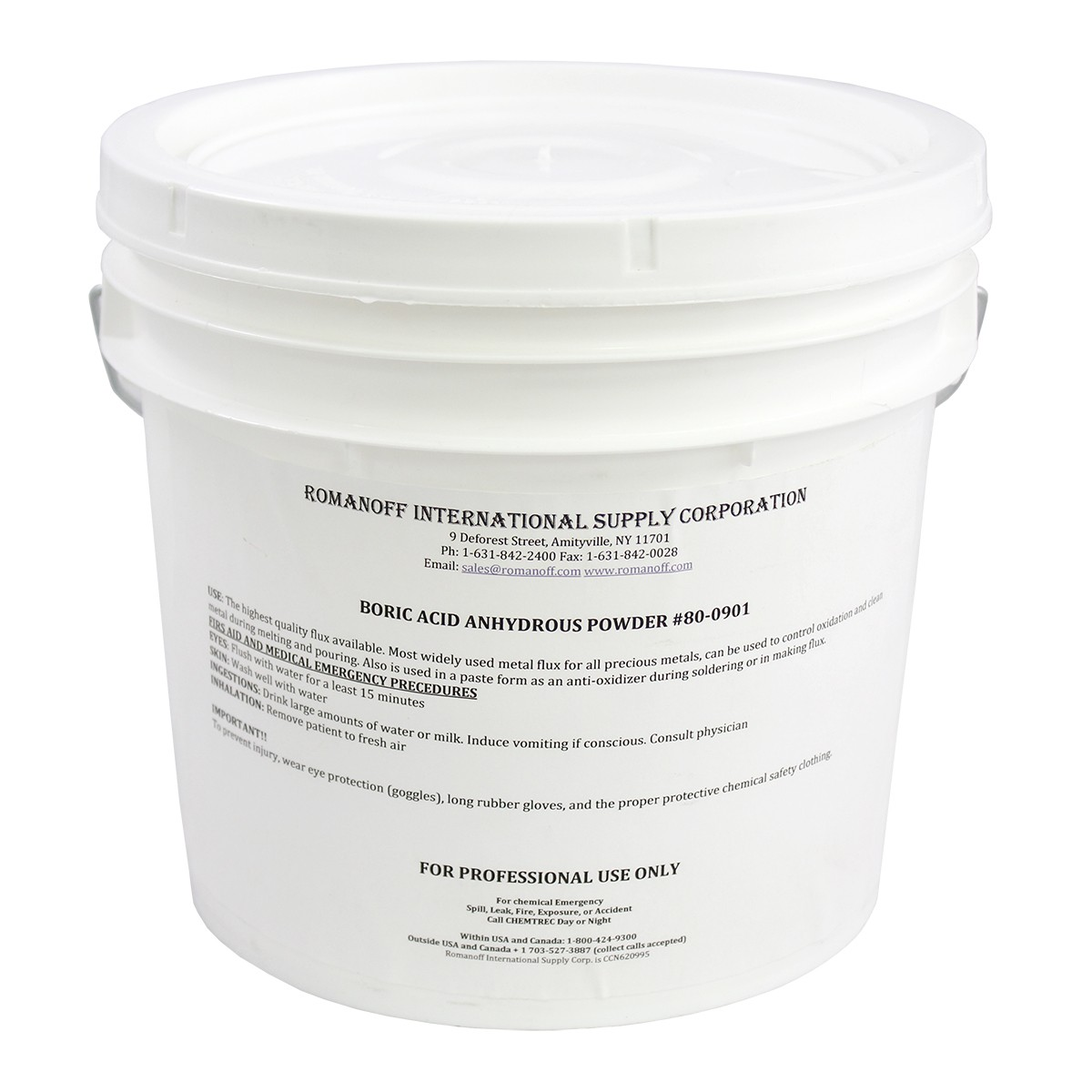 Boric Acid Anhydrous Granular Mesh- 5lb