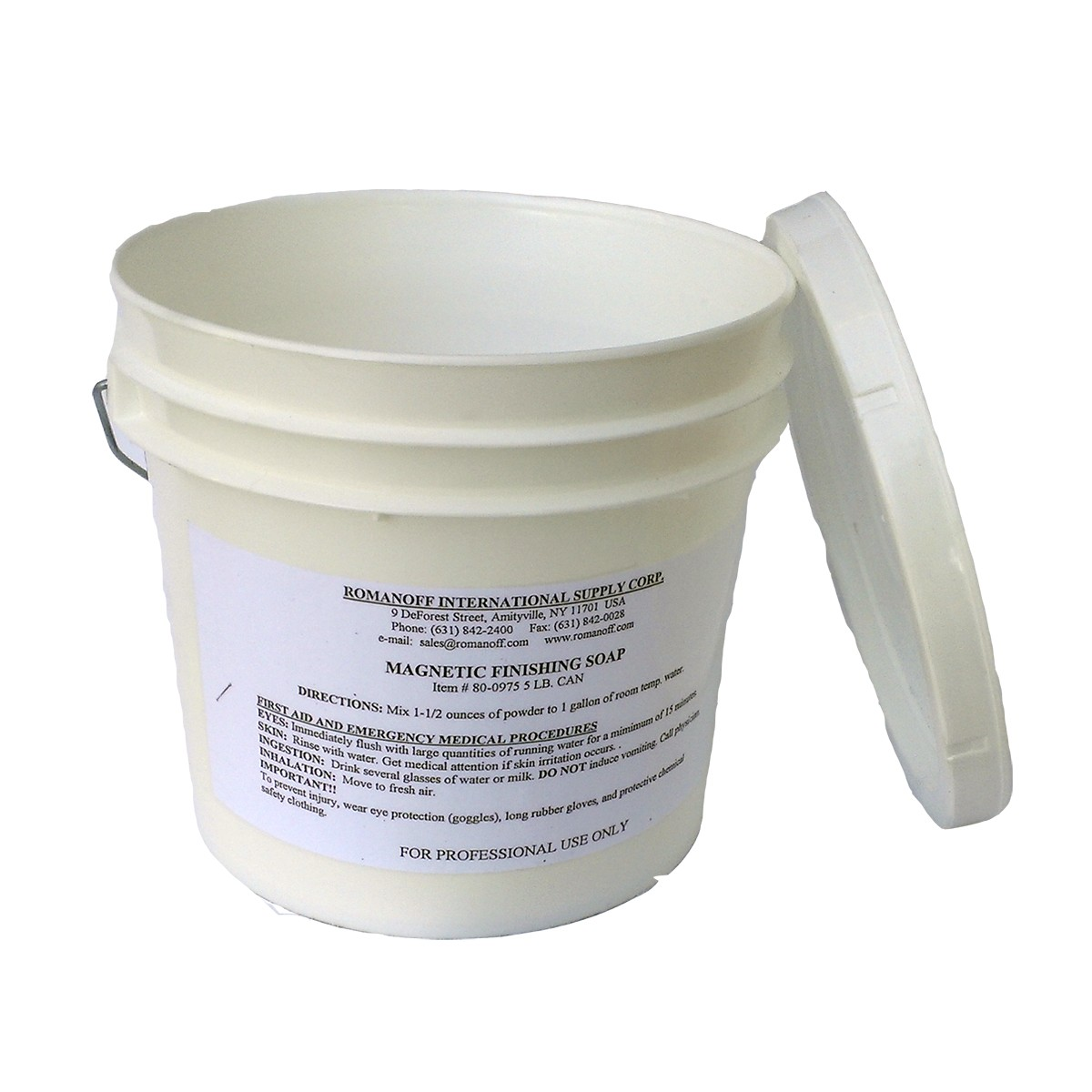 Magnetic Tumbling Powder Soap Concentrate - 5lb