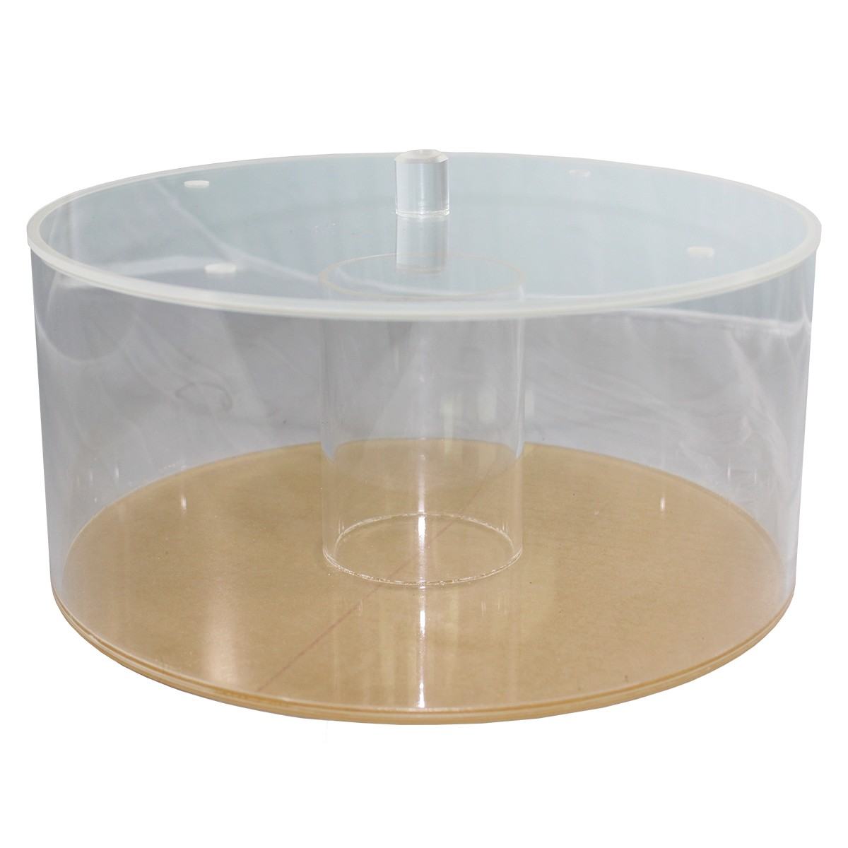"""Large Magnetic Tumbler Bowl 11"""" (275mm) With Lid"""