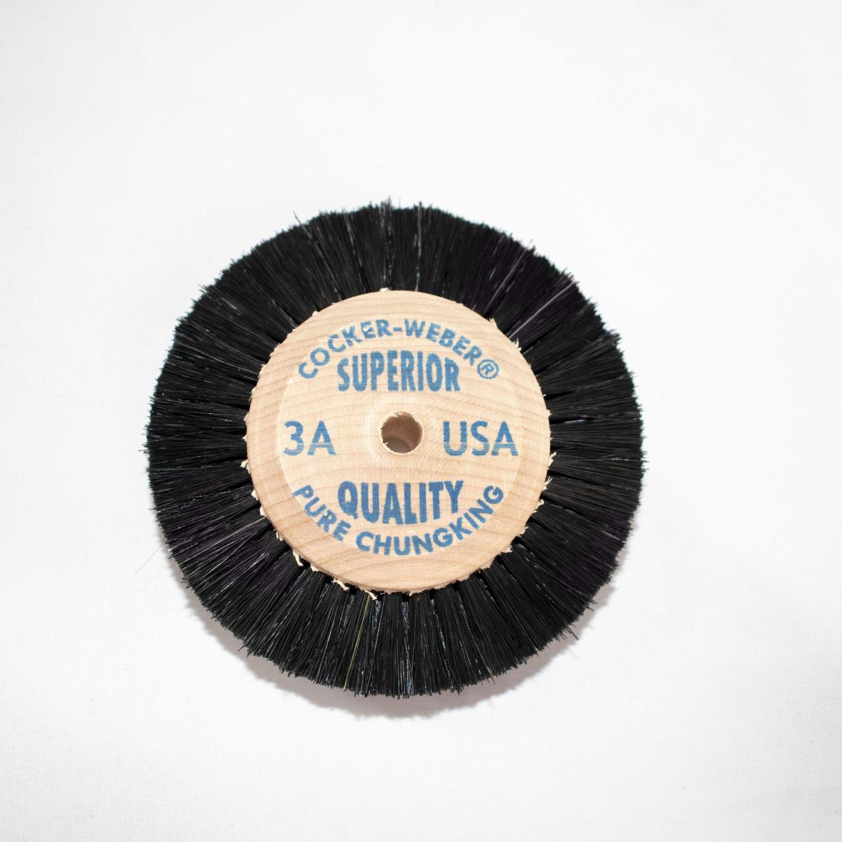 "3-A Blue Label Cocker Weber Brushes, 5/8"" Trim Hair"