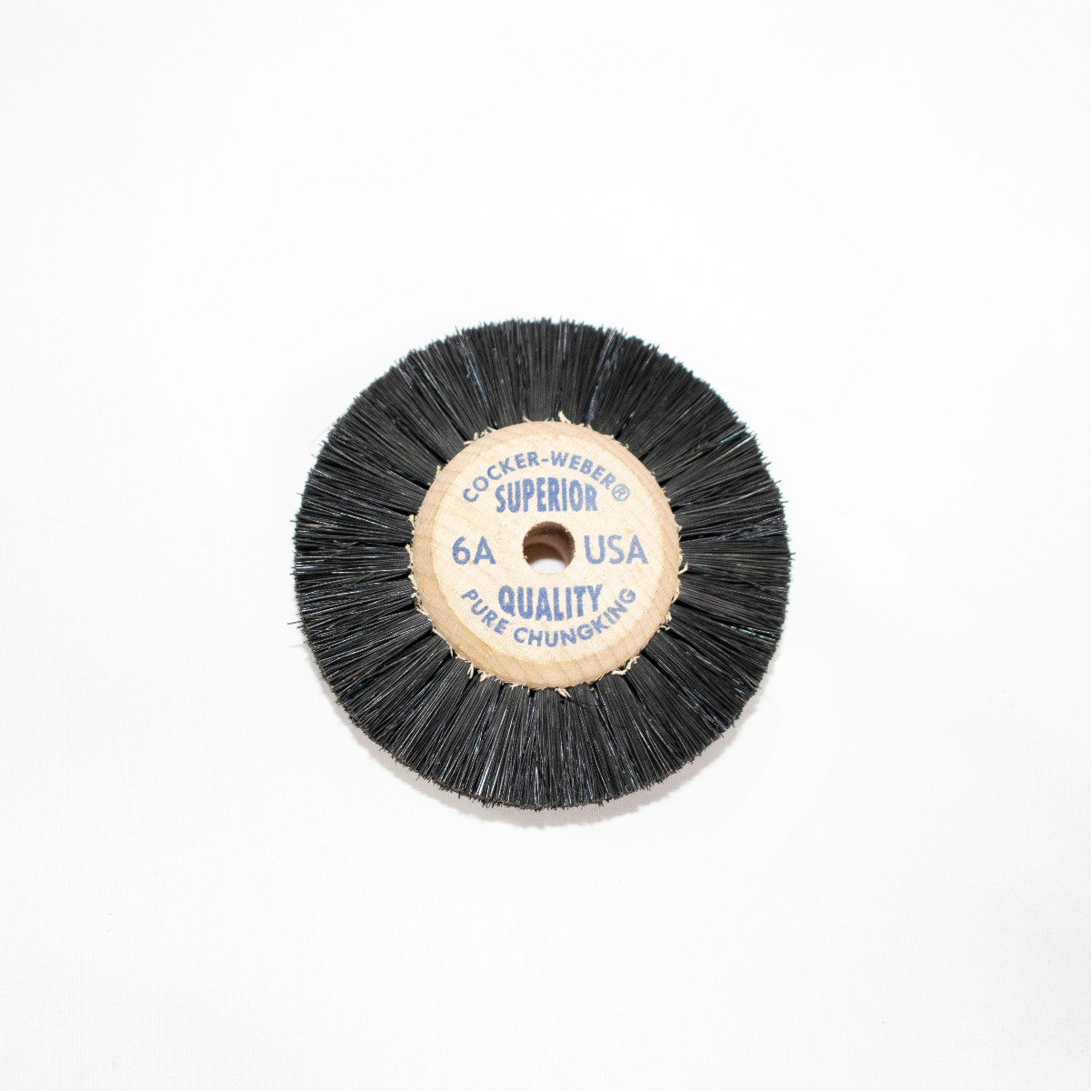 "6-A Blue Label Cocker Weber Brushes, 5/8"" Trim Hair"