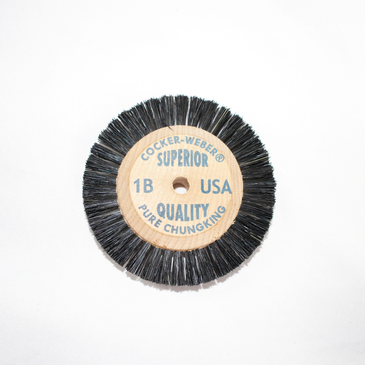 """1B Blue Label Cocker Weber Brushes, 1/2"""" Trim Hair"""