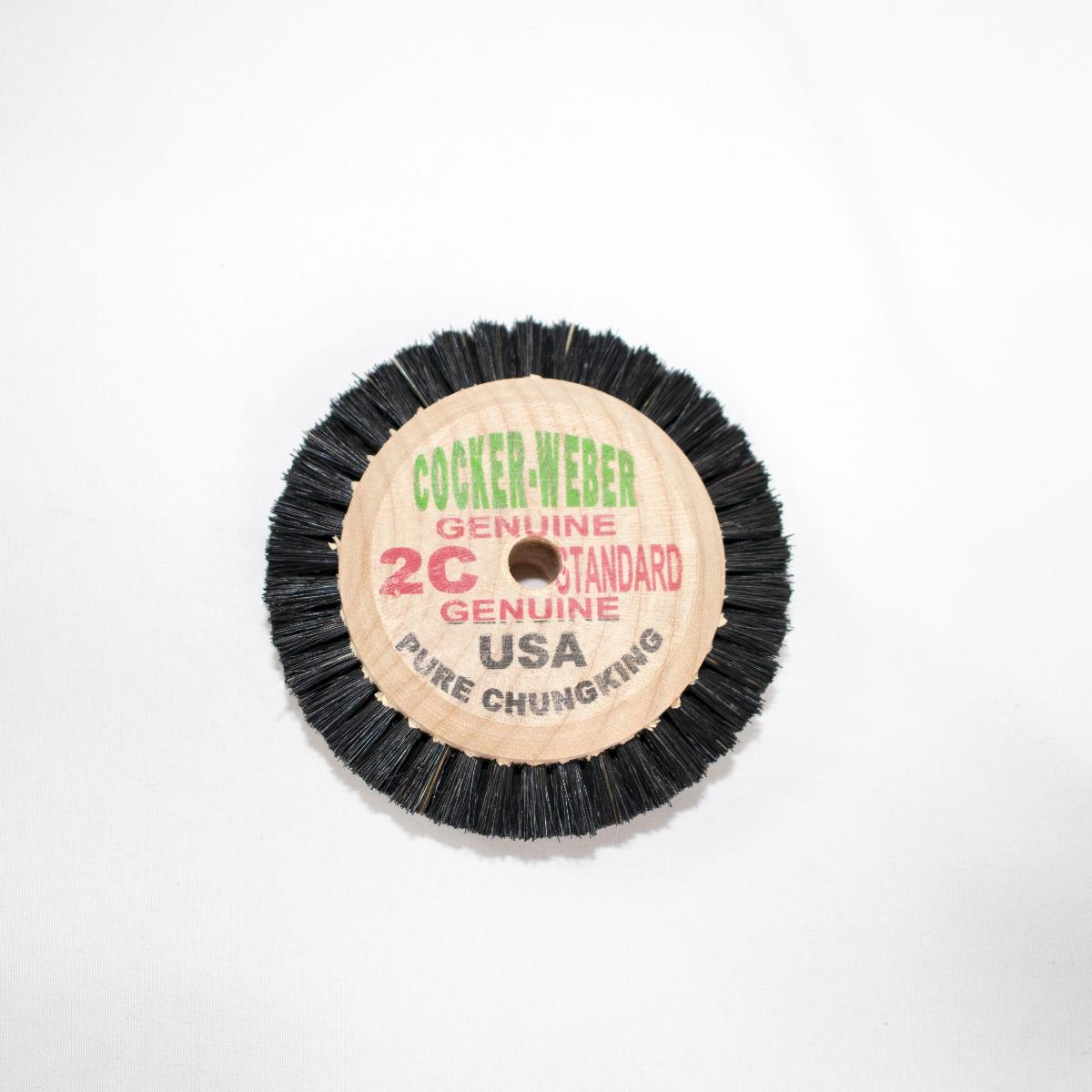 """2-C Green Label Cocker Weber Brush, 3/8"""" Trim Hair"""