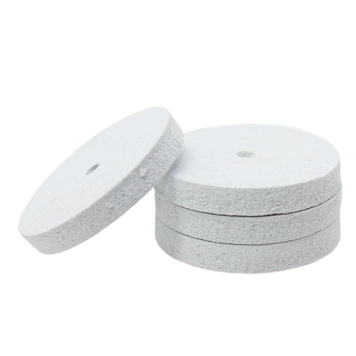 Eve® White Rubber Wheels R22 Platinum Square Edge
