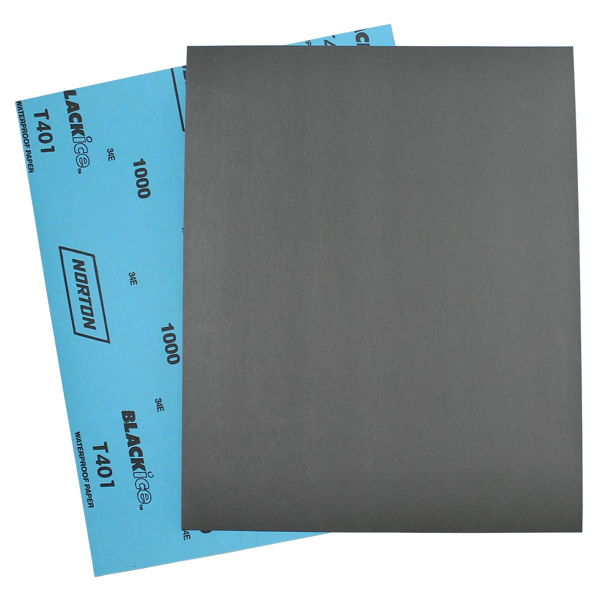 Norton Emery Polishing Paper - 1000 Grit