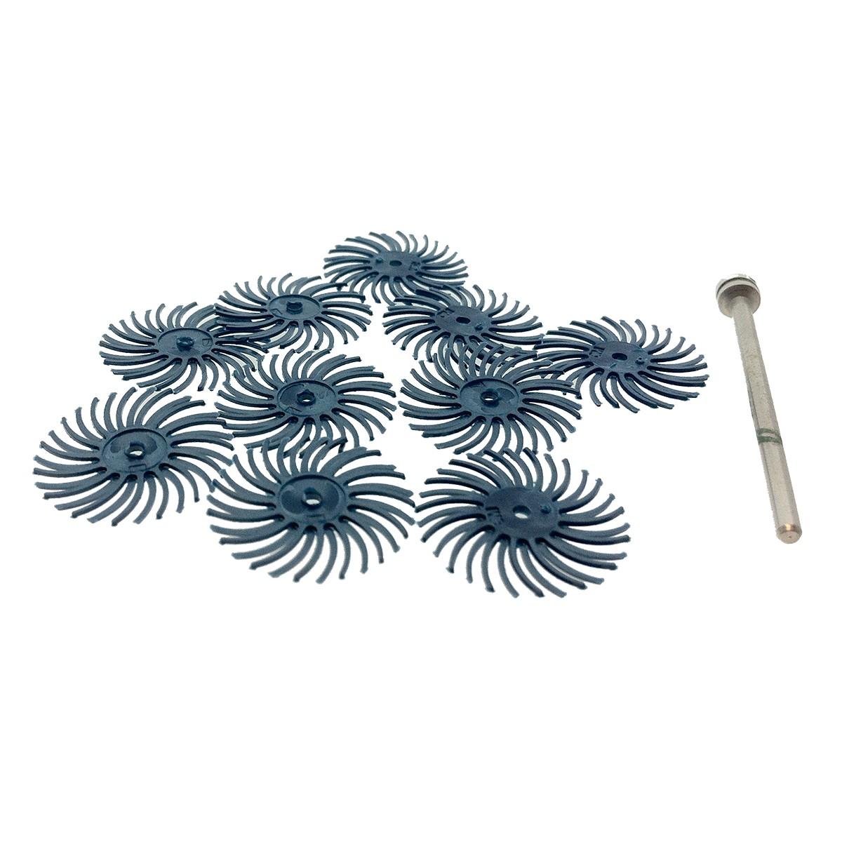 "3M Fine Blue 3/4"" Radial Bristle Discs"