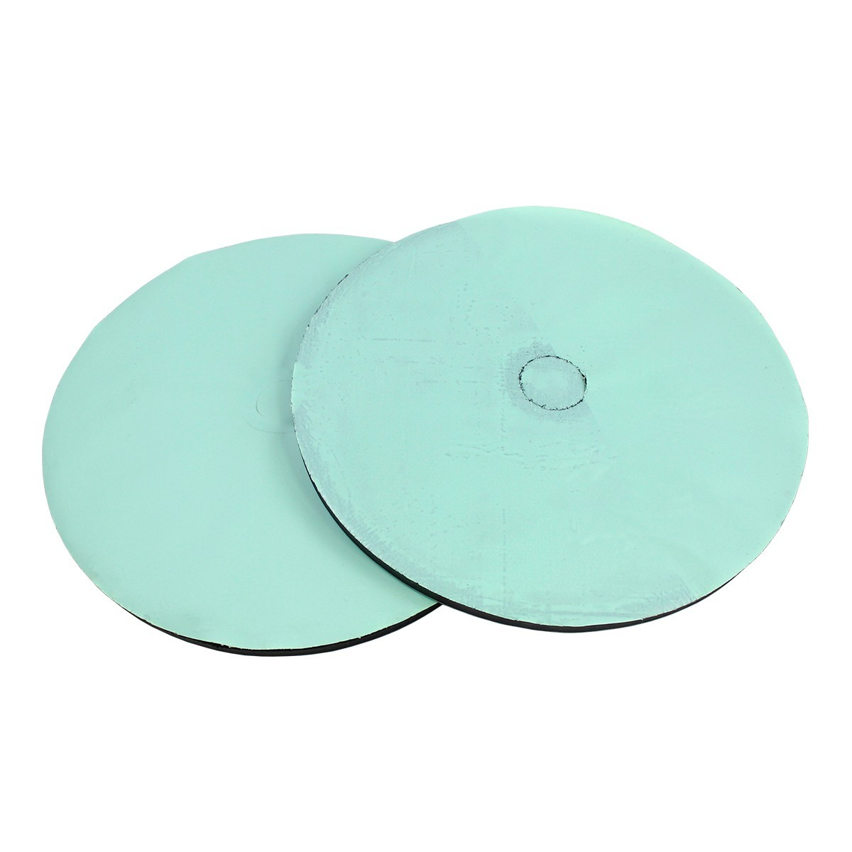 RRD-1 Black Mold Rubber - Green Poly Disc - 12""