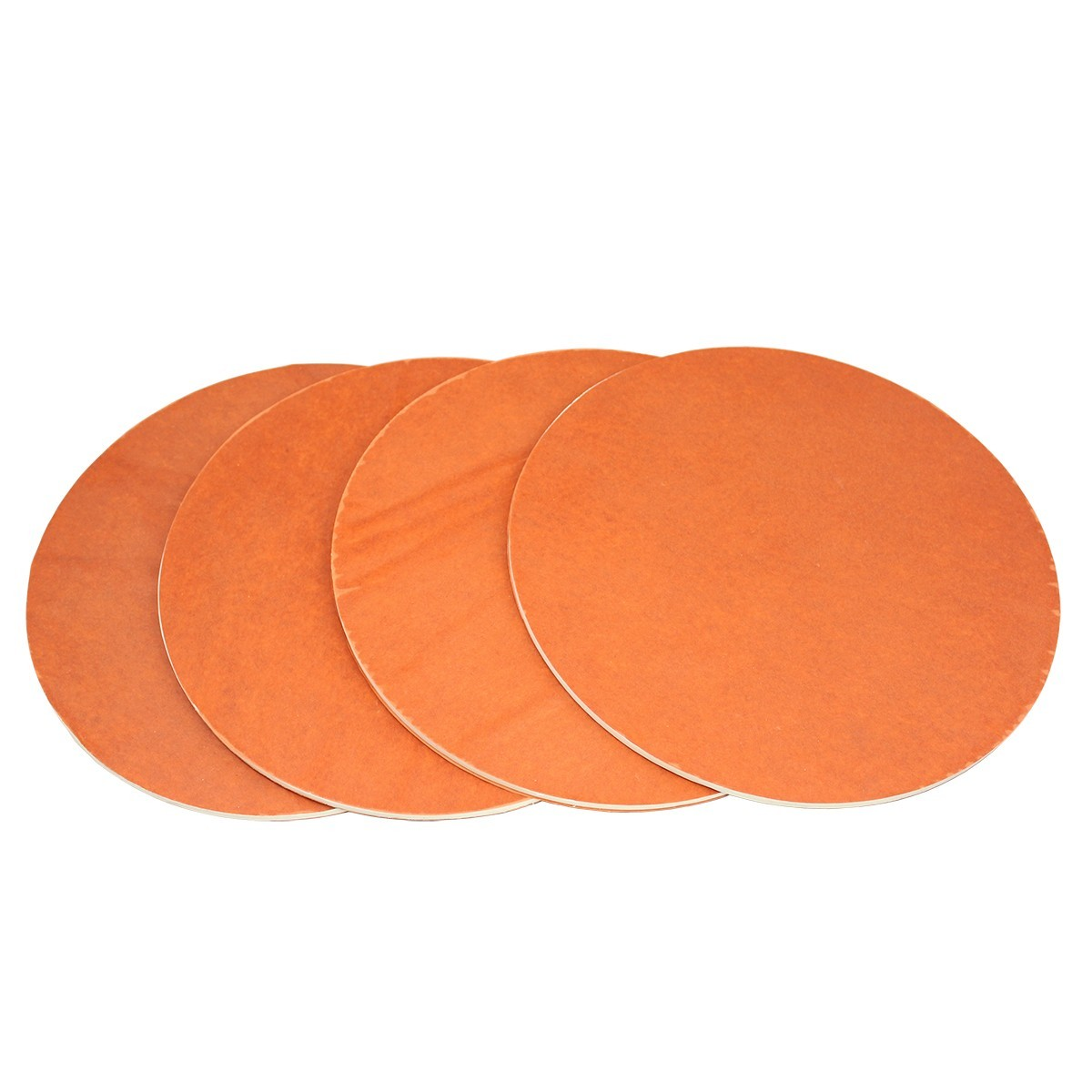 "White 9"" Silicone Layer Discs - Set Of 4"