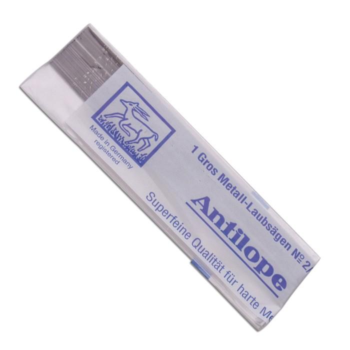 Antilope Blue Label Saw Blades - Size 6/0 Blue
