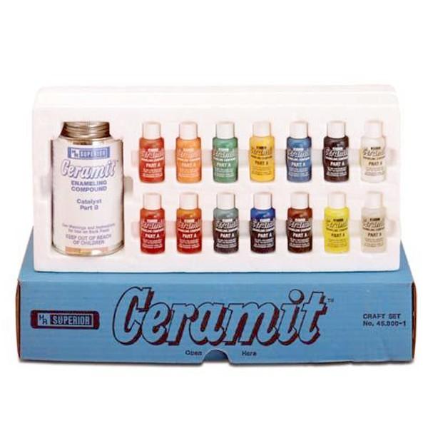 Ceramit Enamel Kit - 14 Colors Enameling