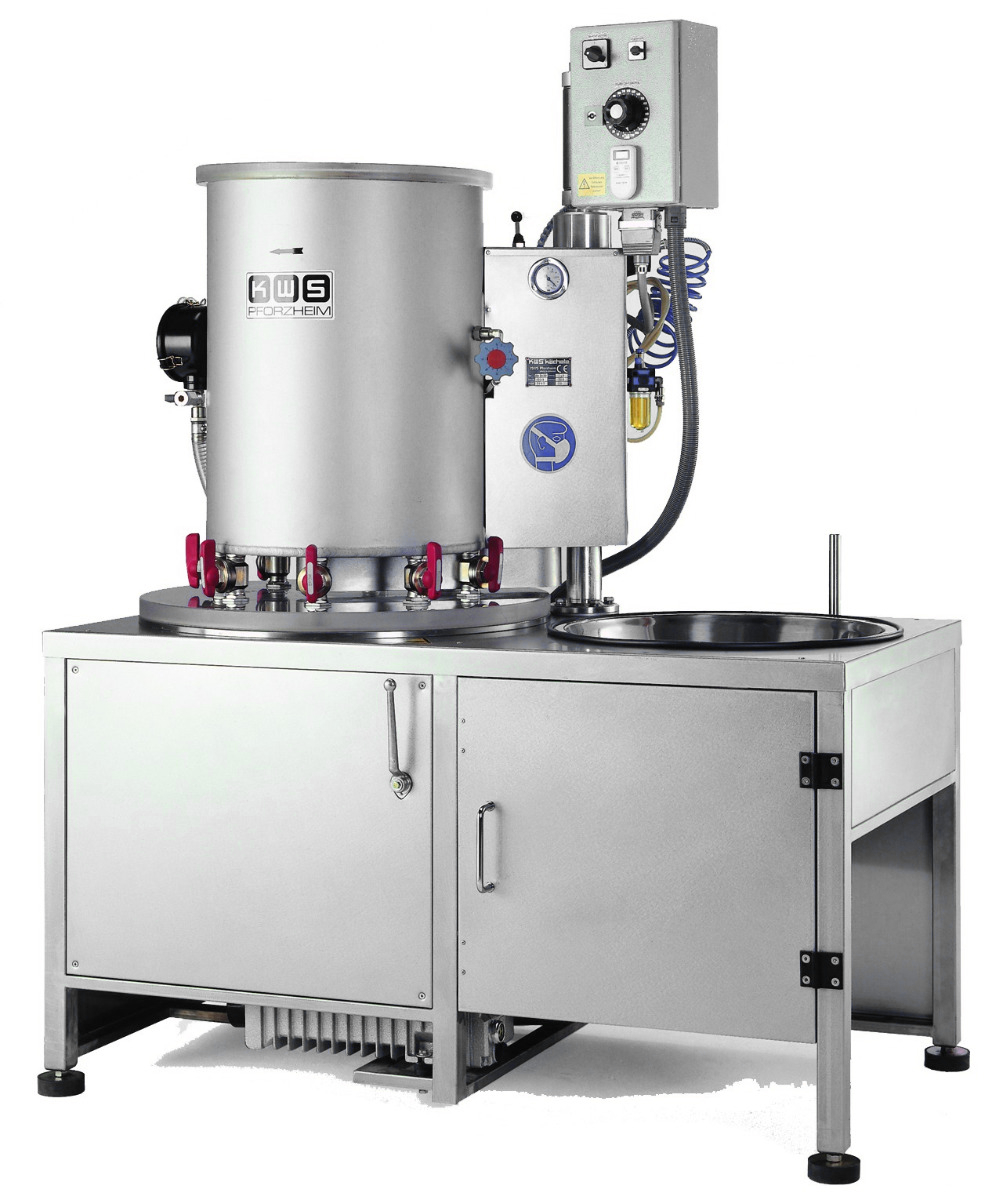 KWS EB10/16 - 6-8 Flask Investment Mixing Machine