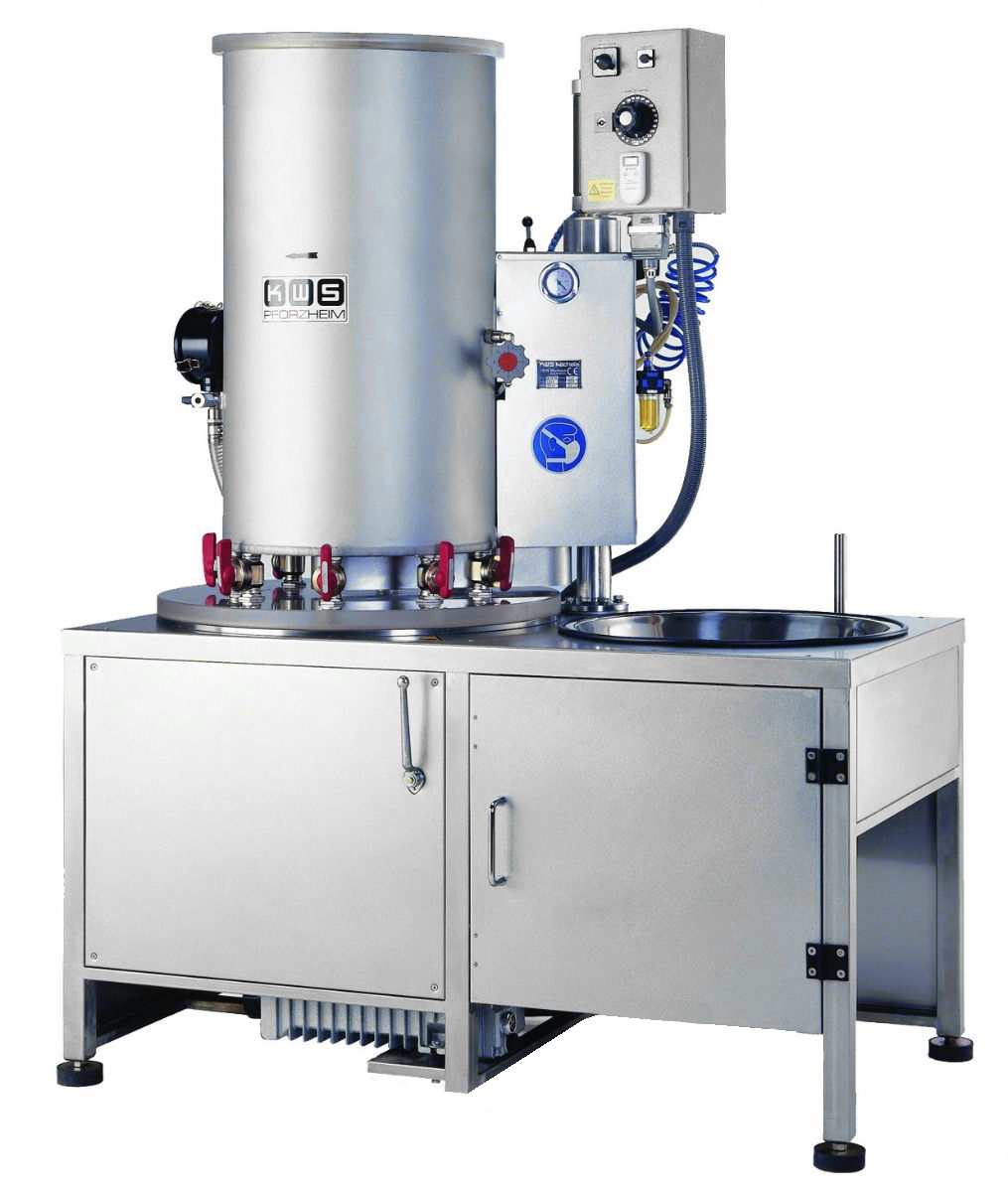 KWS EB20/30 - 8 Flask Investment Mixing Machine