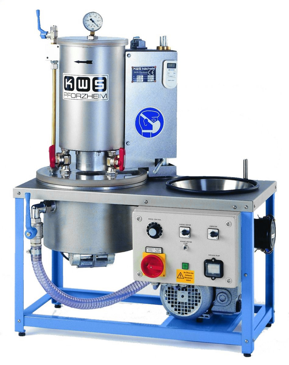 KWS EB5 - 3 Flask Investment Mixing Machine