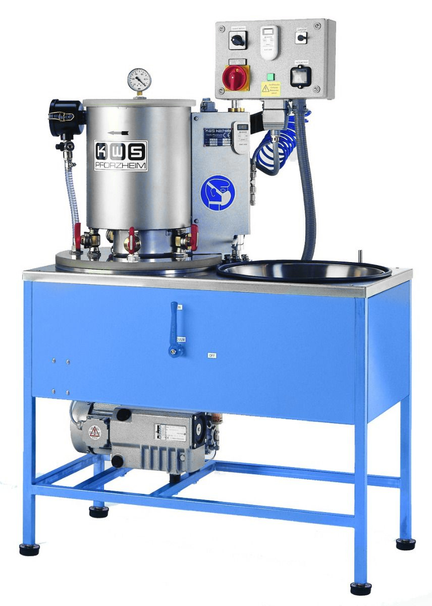 KWS EB8 - 5 Flask Investment Mixing Machine