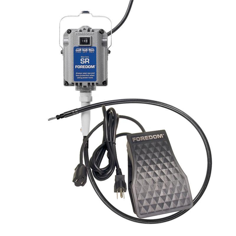 Foredom SR Flex Shaft Machine w/ FCT Foot Control & Reverse