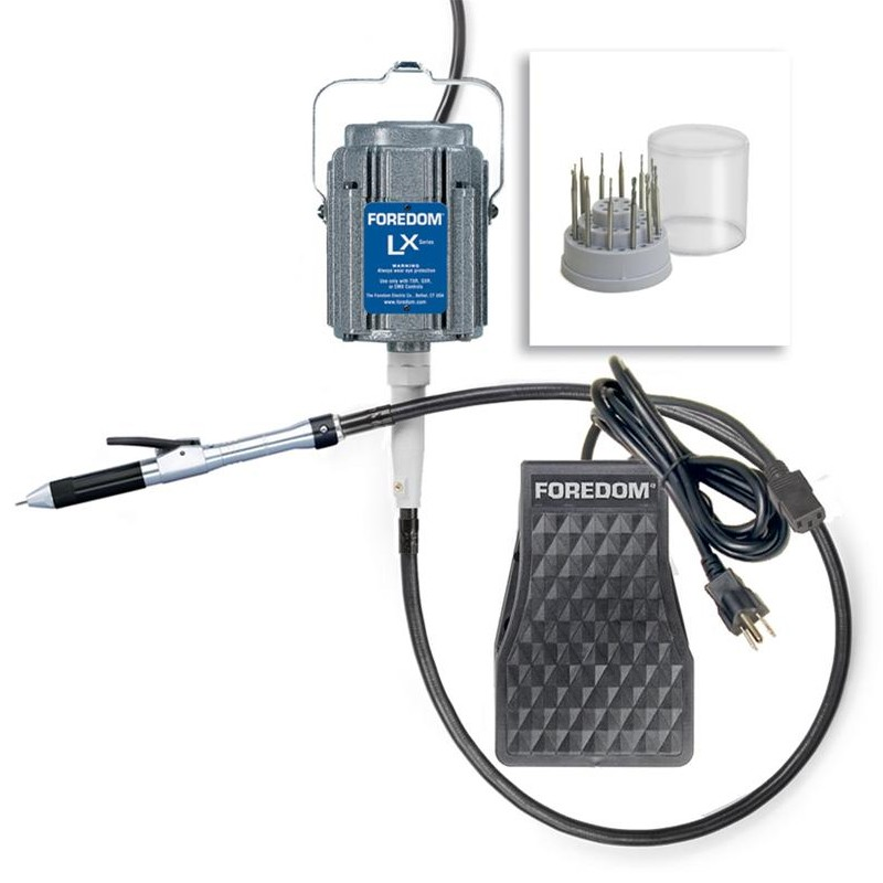 Foredom Deluxe Stone Setting Kit With H.18 Handpiece
