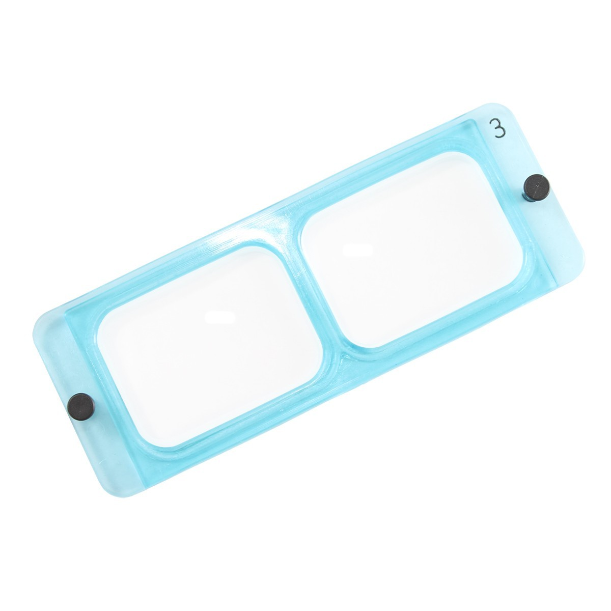 "Replacement OptiVISOR Lens Plate 2X  10"" Focal- DA-4 / LX4"