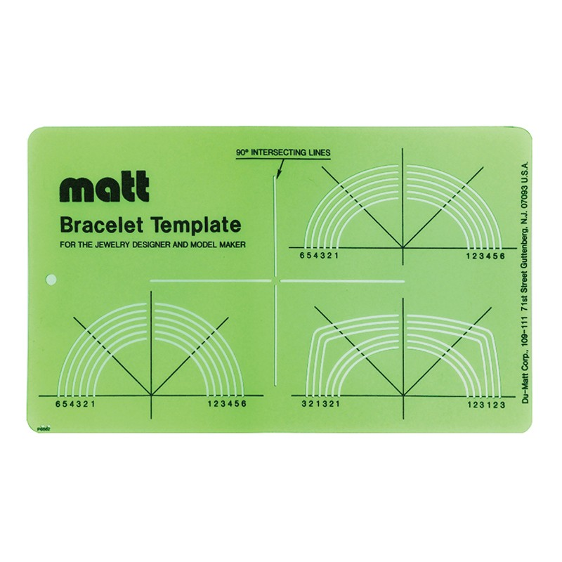 Matt™ Bracelet Template