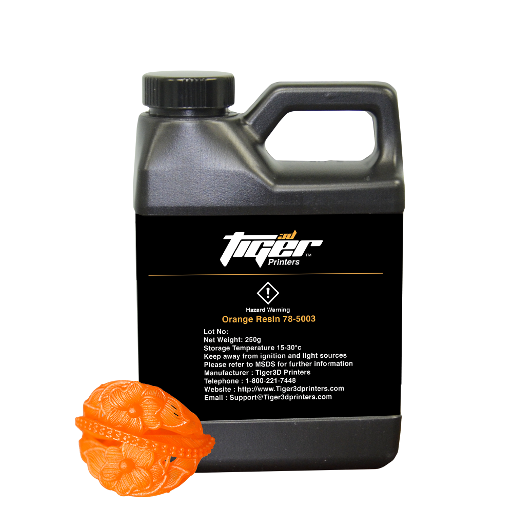 Tiger3D Orange Resin - 250g
