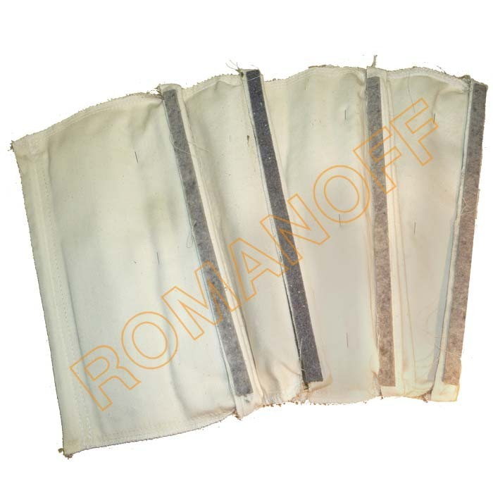 "Bag Style Cotton Sateen Filters - Romanoff #60U 1/2HP, 12""x6.25"""