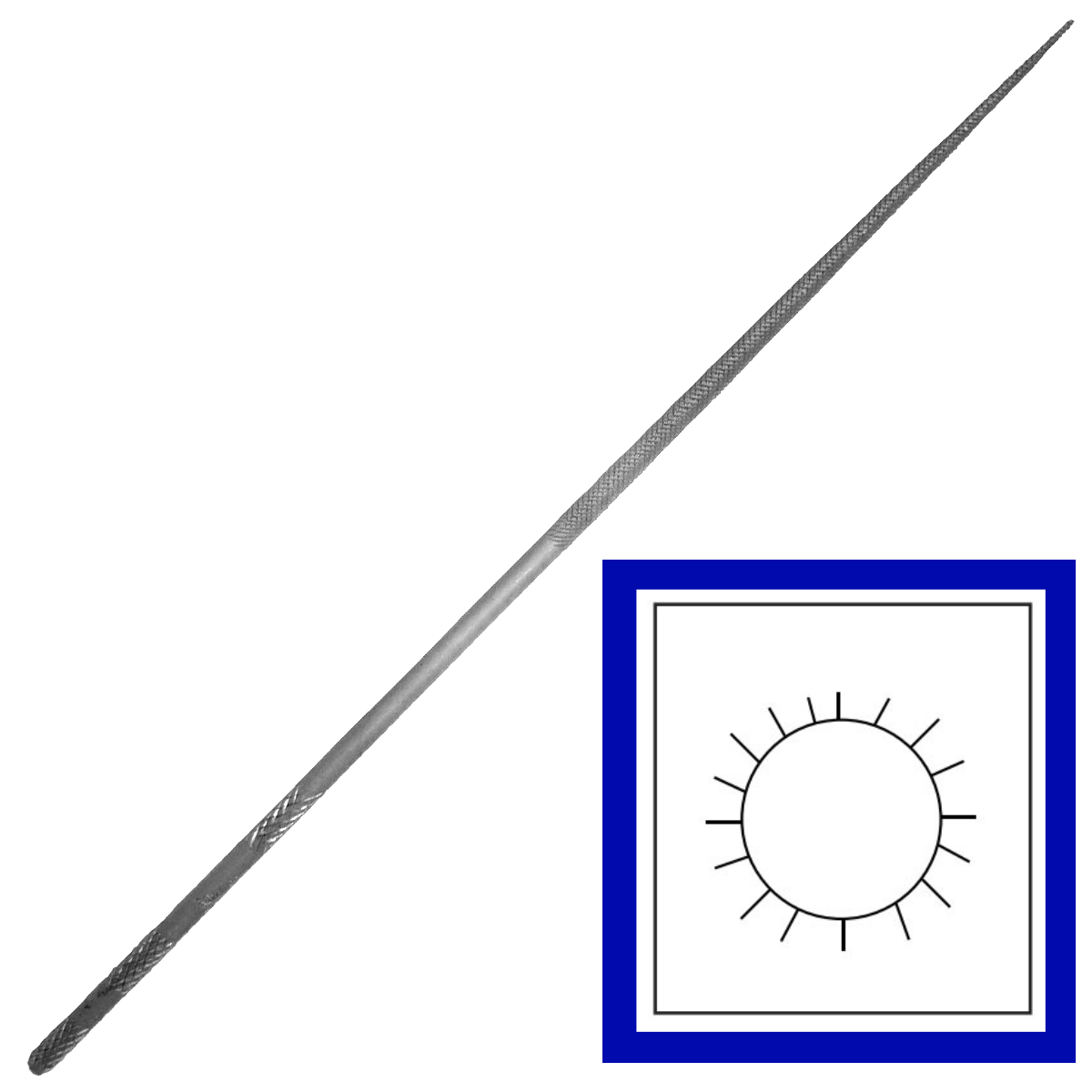 Grobet Round Needle Files