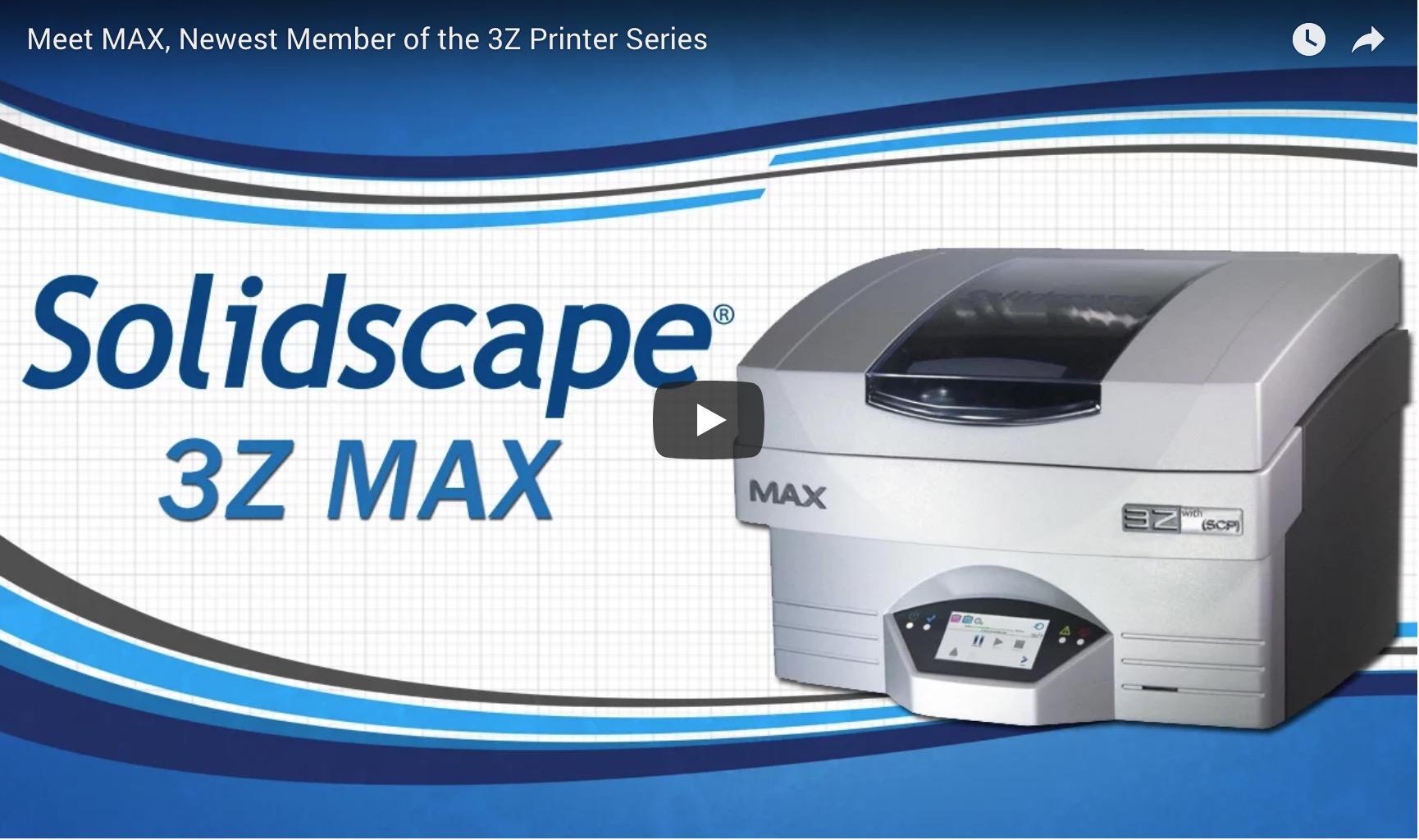 Meet MAX, Newest Member of the 3Z Printer Series