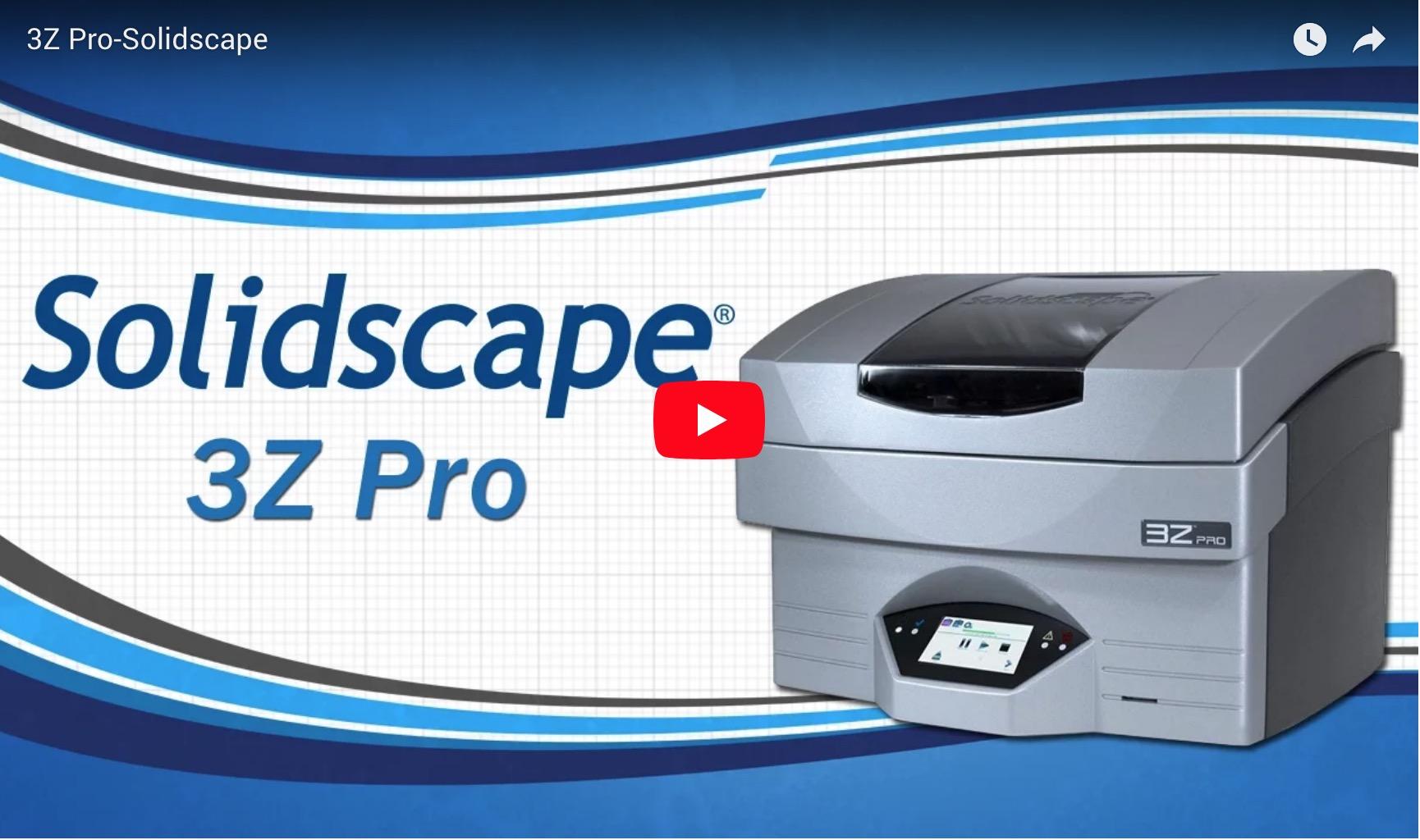 3Z Pro - Solidscape