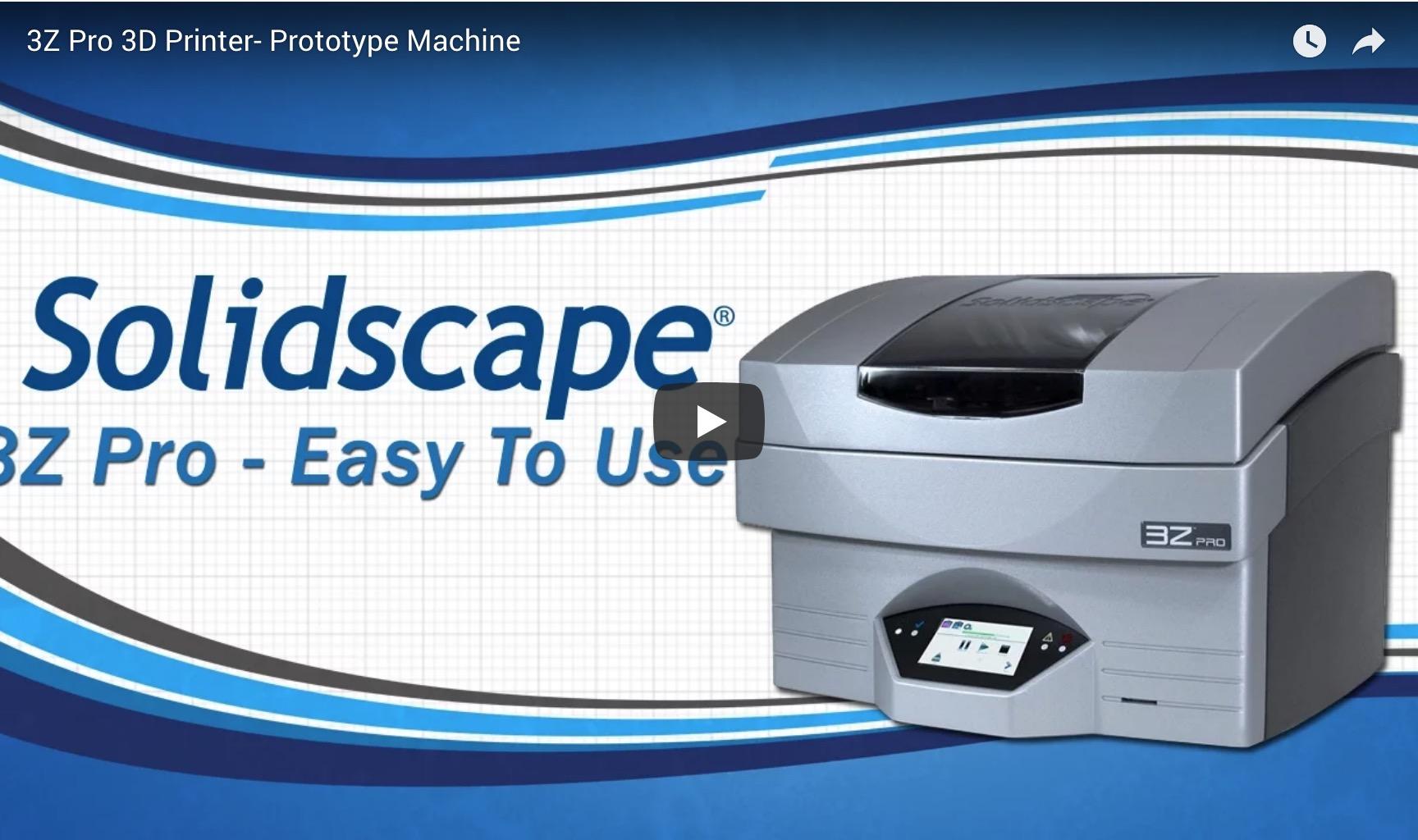 3Z Pro 3D Printer- Prototype Machine