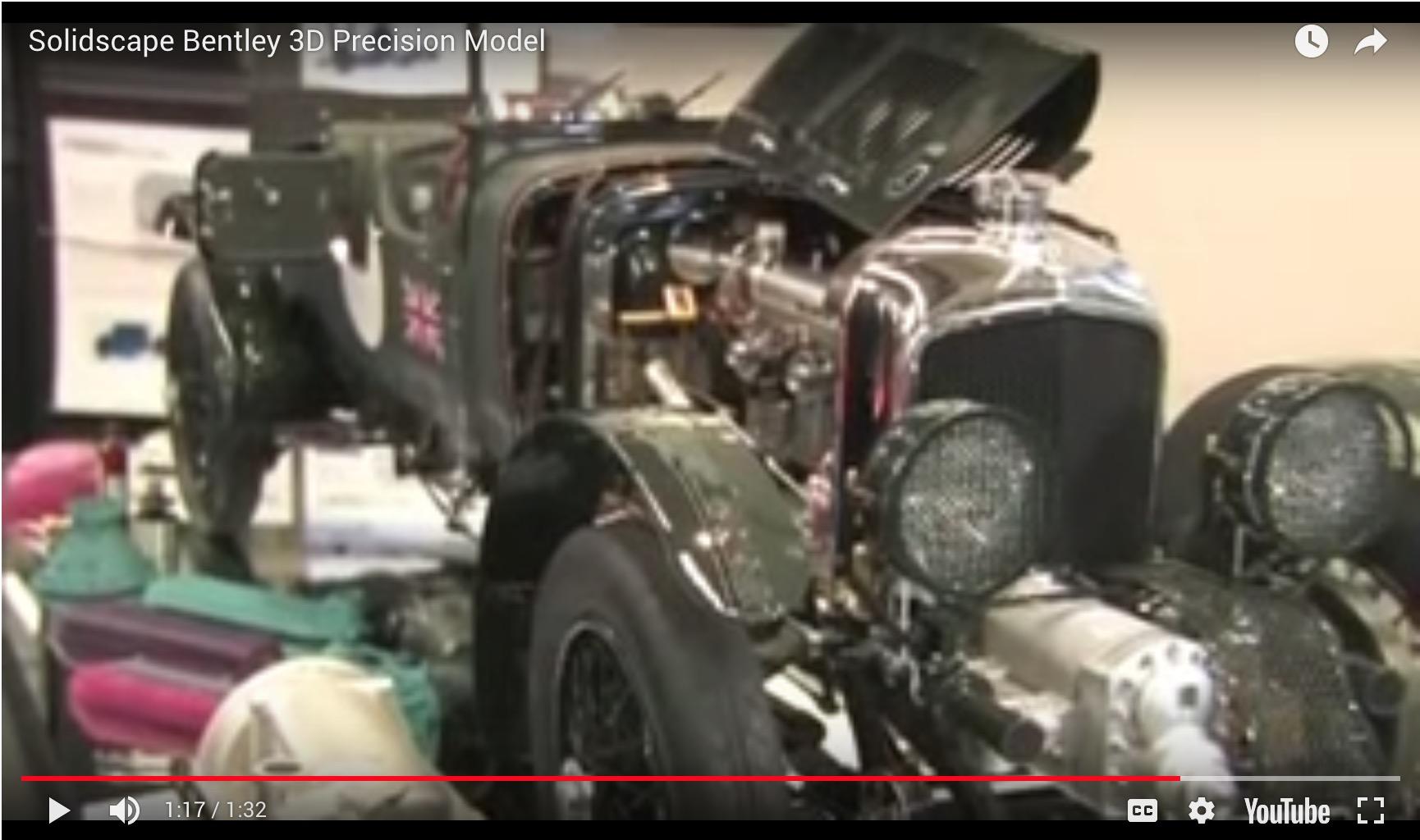Solidscape Bentley 3D Precision Model