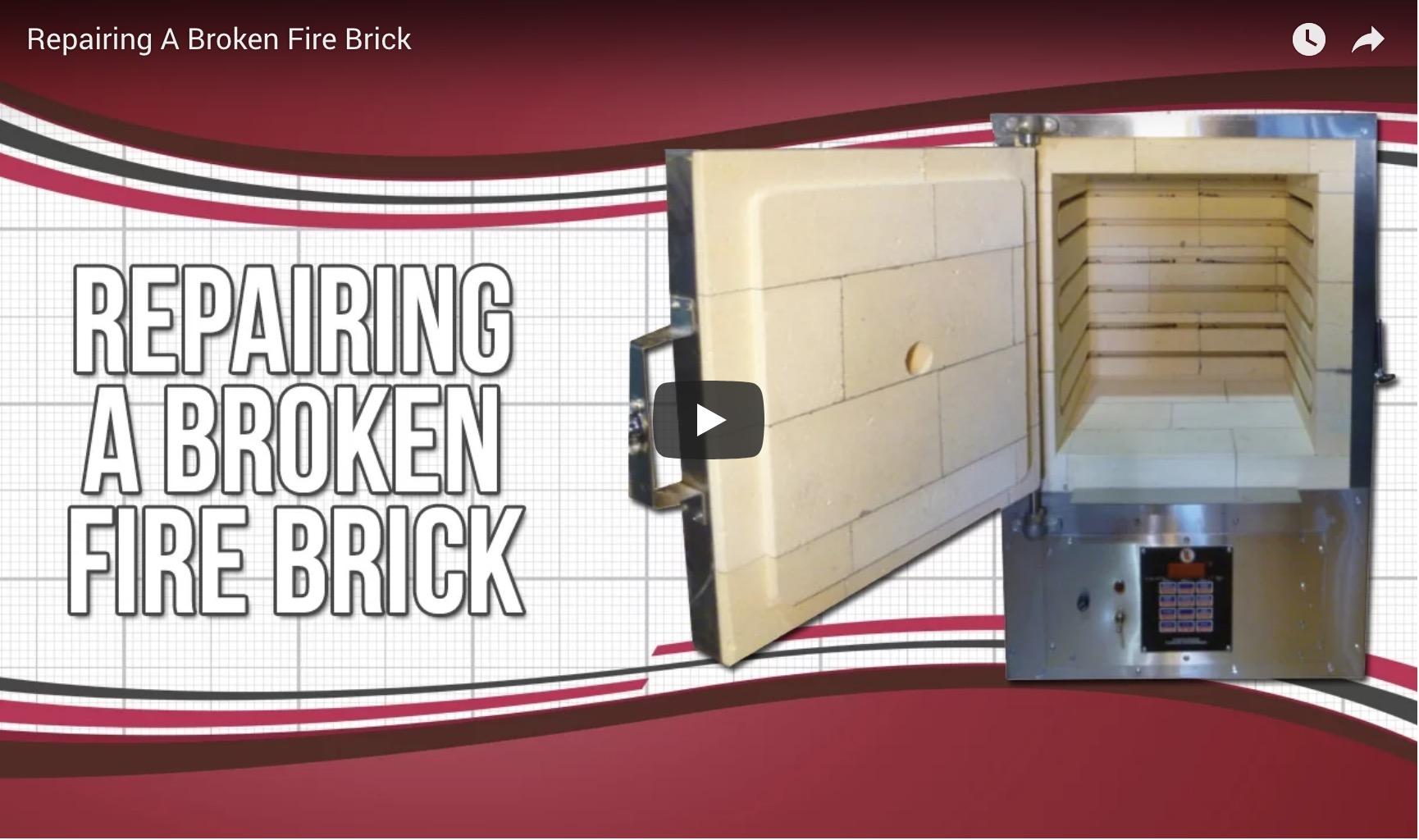Repairing A Broken Fire Brick