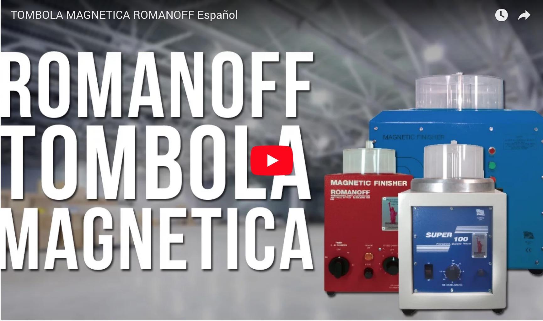 TOMBOLA MAGNETICA ROMANOFF Español