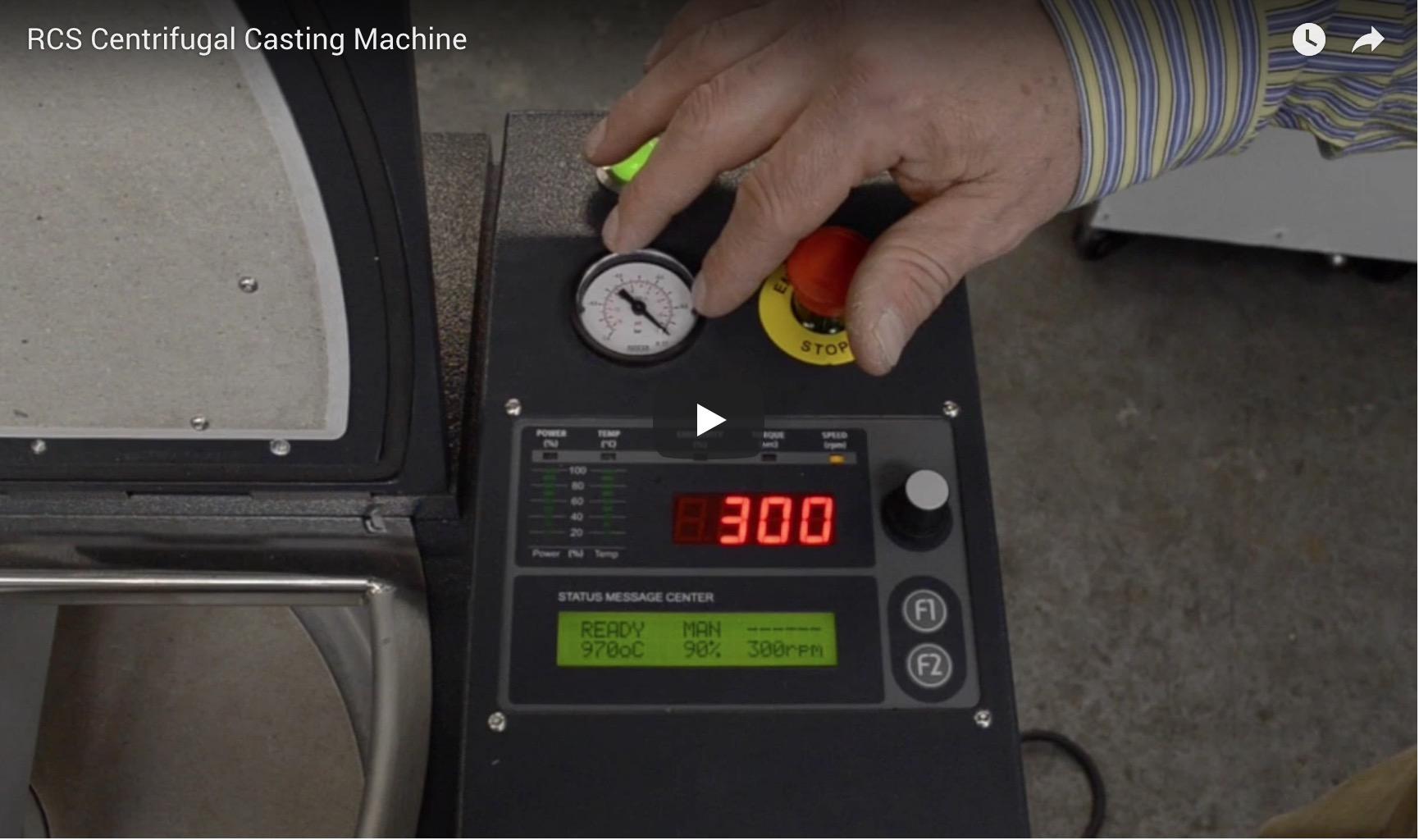 RCS Centrifugal Casting Machine