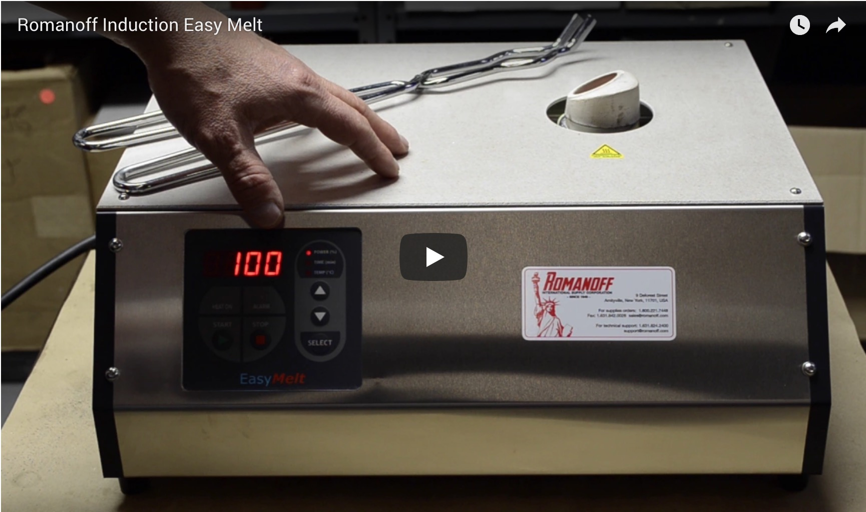 Induction Easy Melt Video