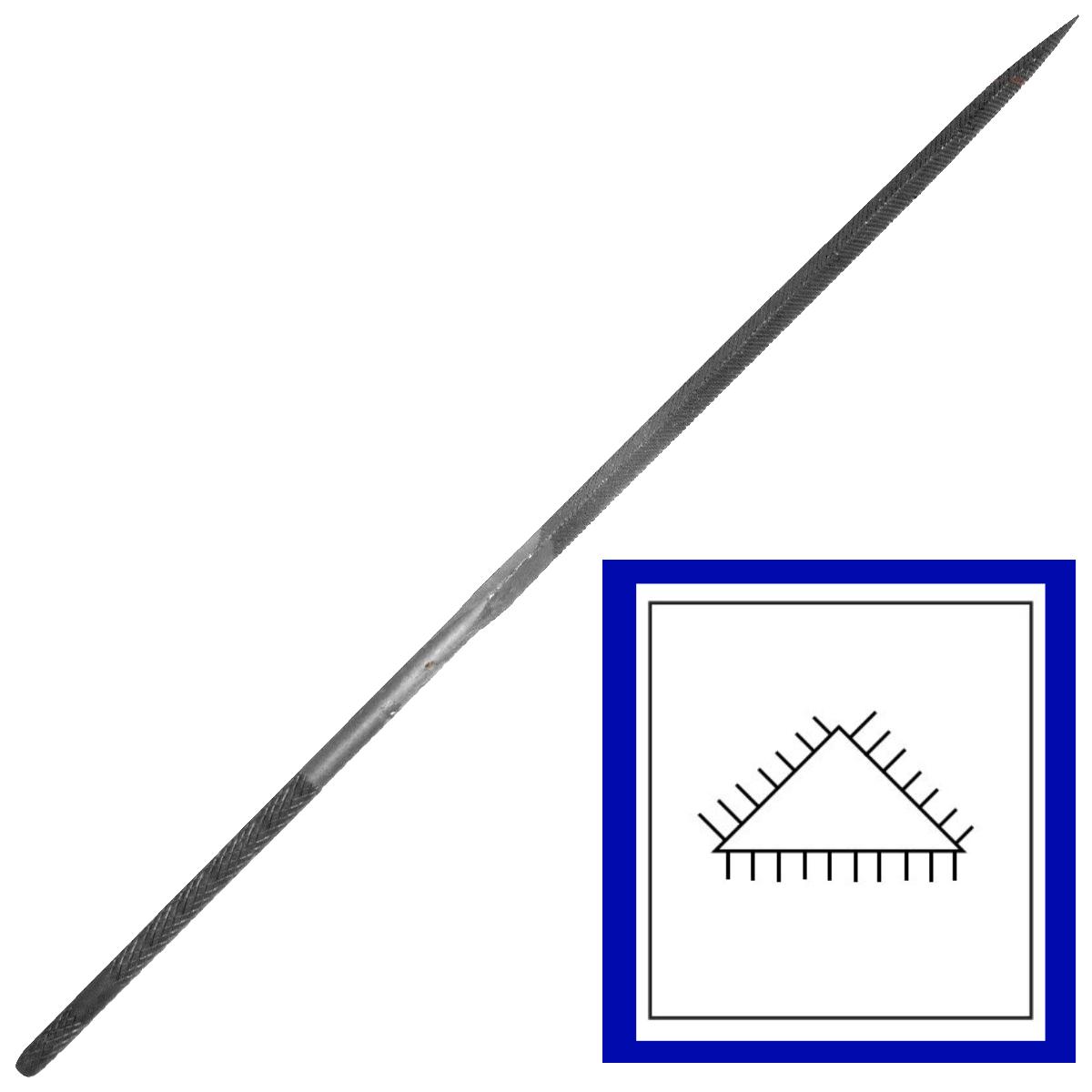 Grobet Three-Square Needle Files
